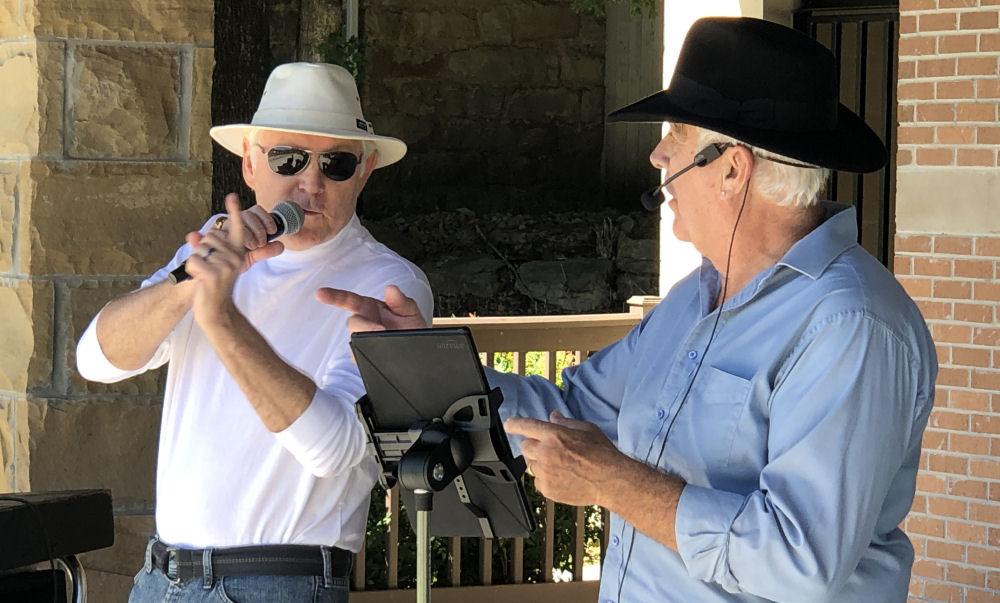 Dennis & Ken at Amphitheatre